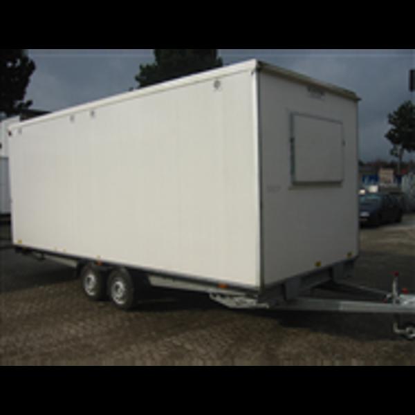 Billede af Letvogn 4 mands 400 V m/toilet/bad