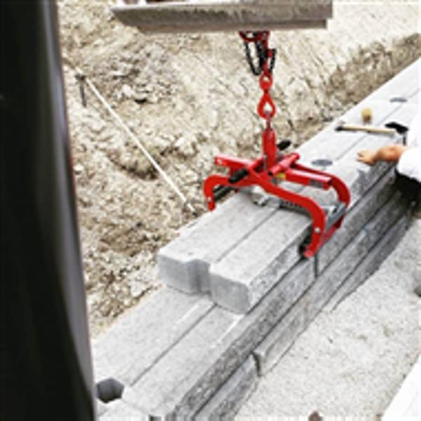 Billede af Kantstenstang til gravemaskine