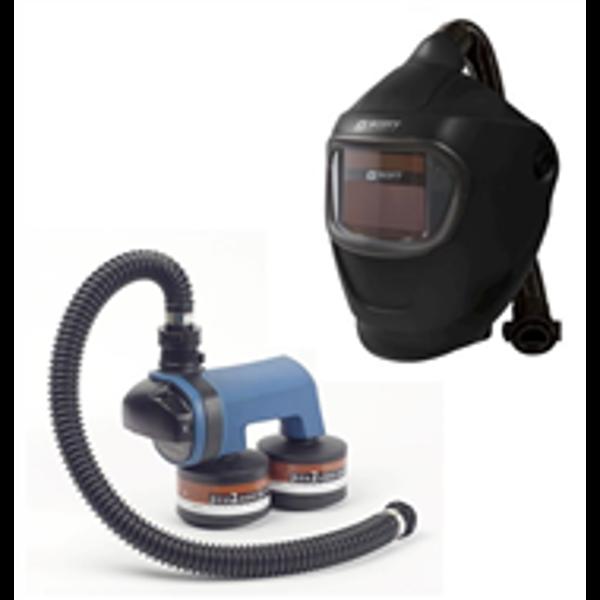 Billede af Svejsehjelmen Åndedrætsværn 2 filter