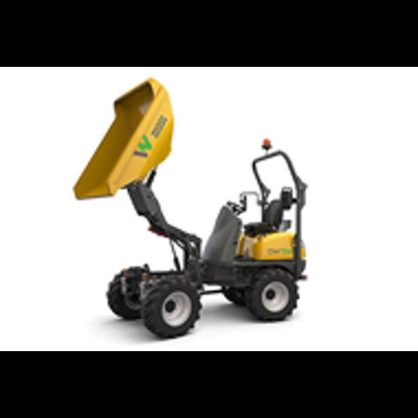 Billede af Dumper 1.5 ton el-drevet knækstyret m/højtip