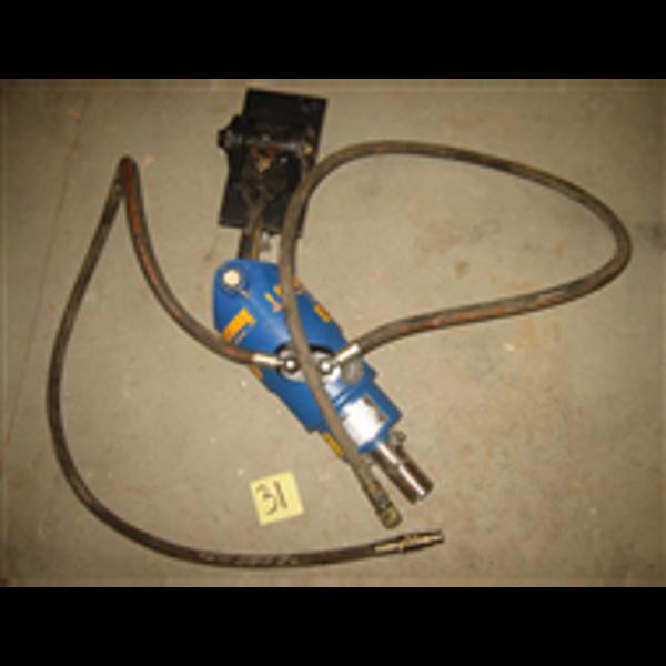 Billede af Jordboraggregat til gravemaskine T/kobling Ø65