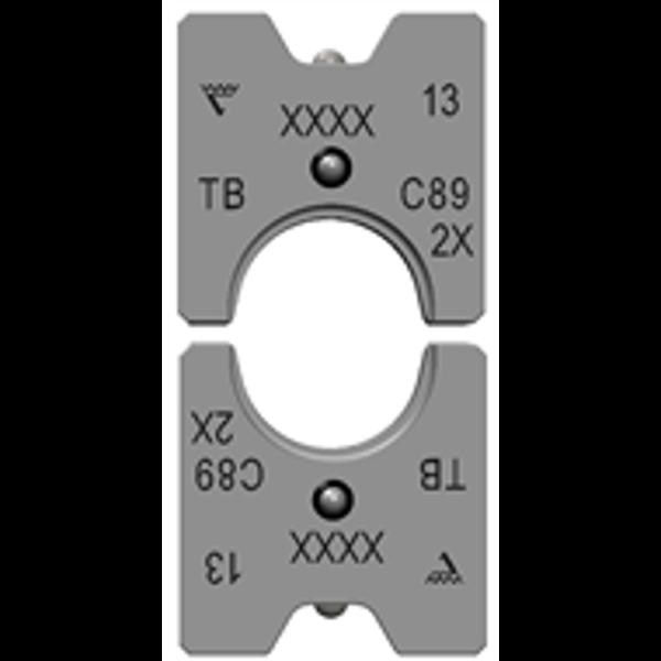 Billede af Presbakke sæt C-klemmer 6-50 mm2